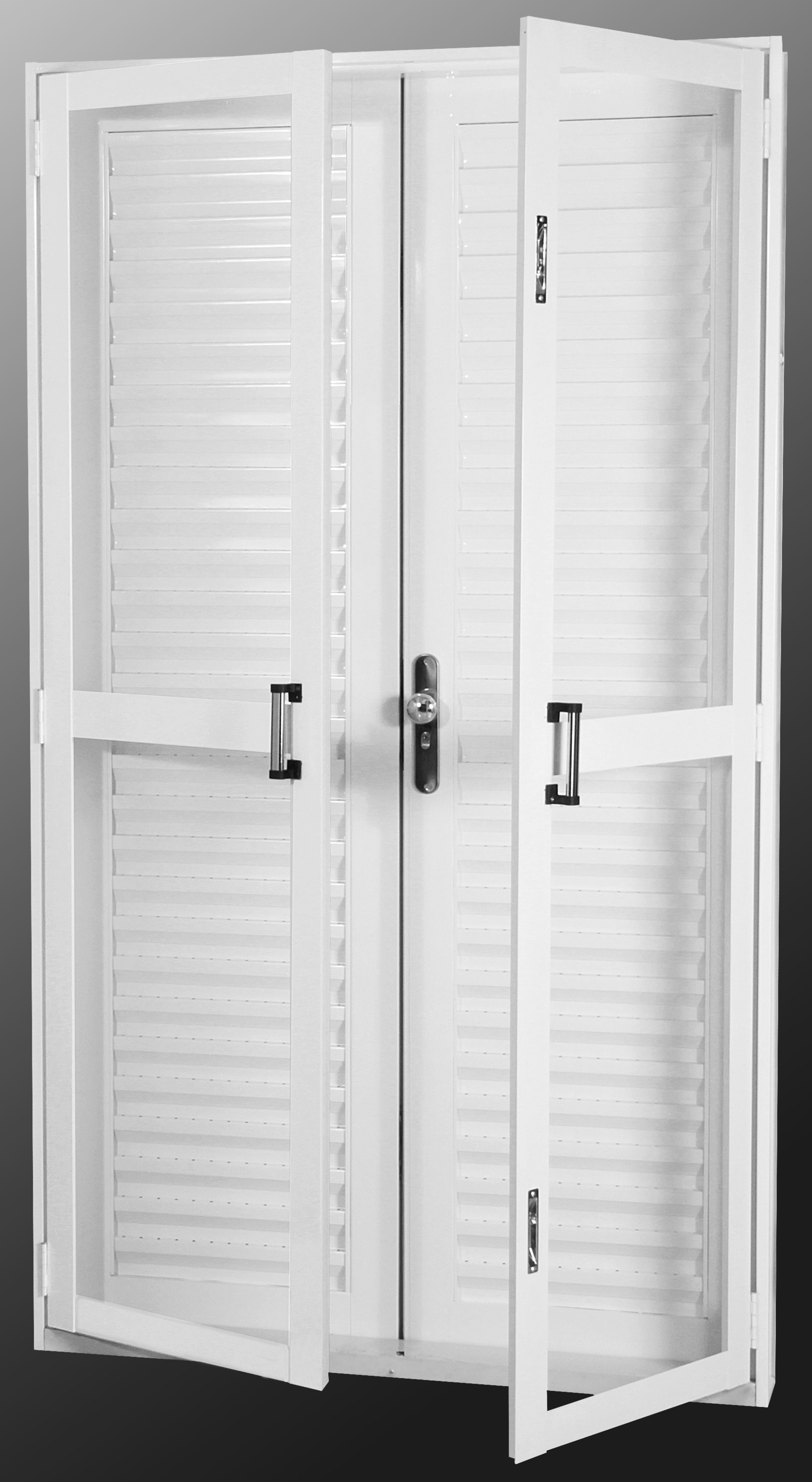 #666666 Porta Porta Balcao Janela Veneziana Vitro Em Aluminio Pictures to pin  1214 Portas E Janelas De Pvc Tigre